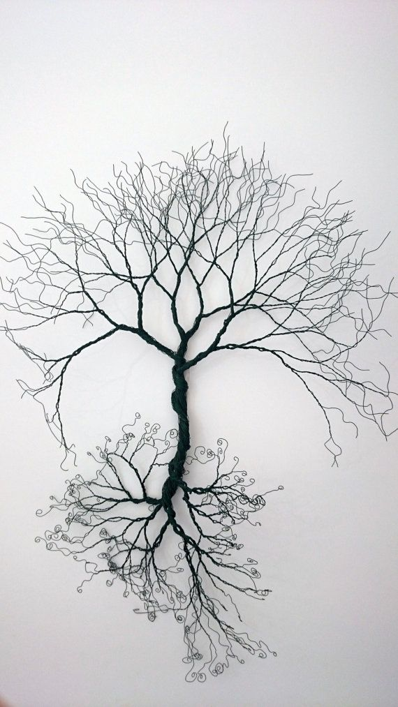Wire Wall Art Tree Of Life Wall Decoration By WireArtbyCatherine