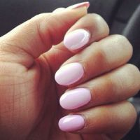 25+ best ideas about Pink Oval Nails on Pinterest   Oval ...