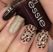 ideas leopard nail