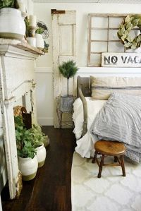 17 Best ideas about Farmhouse Bedrooms on Pinterest
