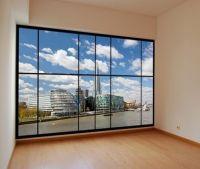 Description: Peel & stick apartment style window mural ...