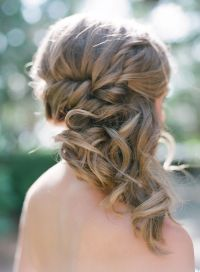 25+ best ideas about Bridesmaid Side Hairstyles on ...