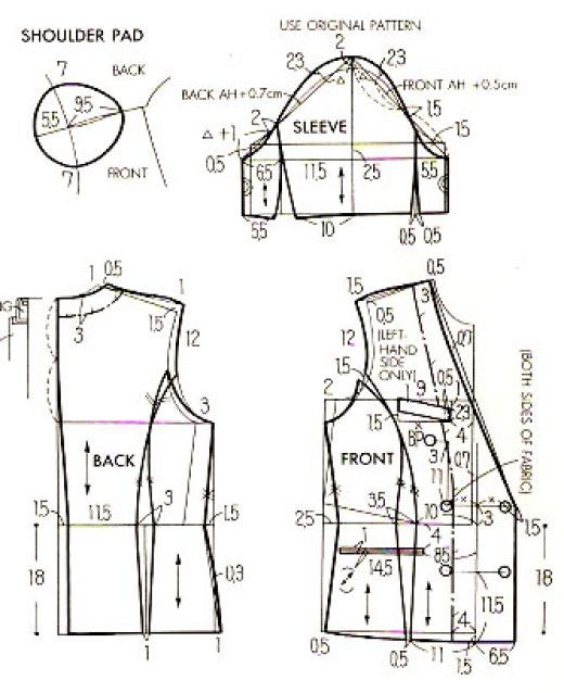 1000+ images about SEWING PATTERNS 101 on Pinterest