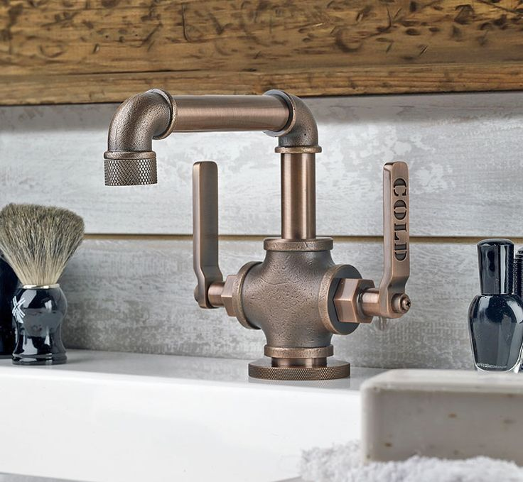 25 best ideas about Industrial Bathroom Faucets on