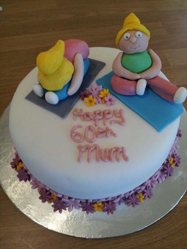 Yoga Birthday Cake Kaylee S 6th Birthday Theme