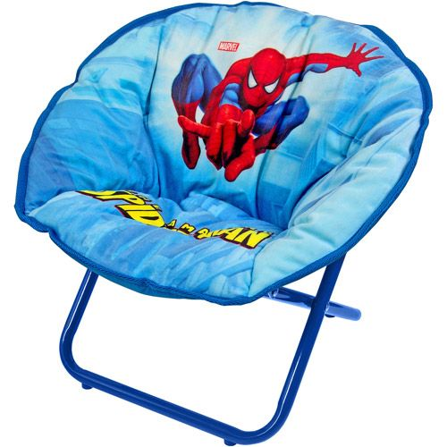 Spiderman Mini Saucer Chair  Chairs Minis and Zip code