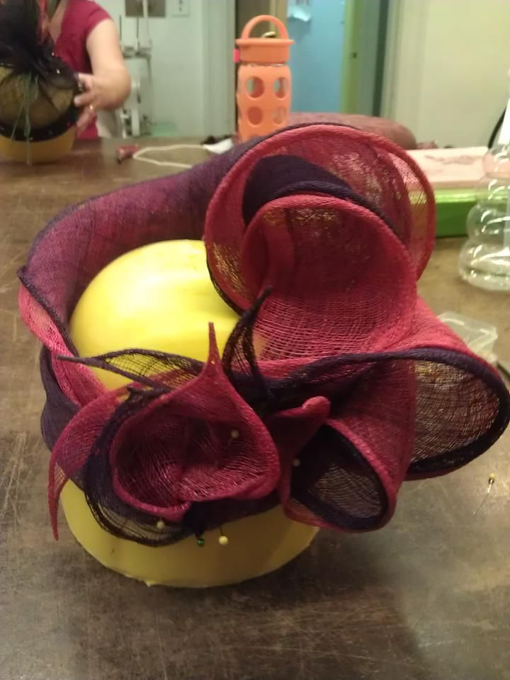 sinamay hat pinned  HATDIY TUTORIALS  Pinterest  Nice The ojays and Yellow