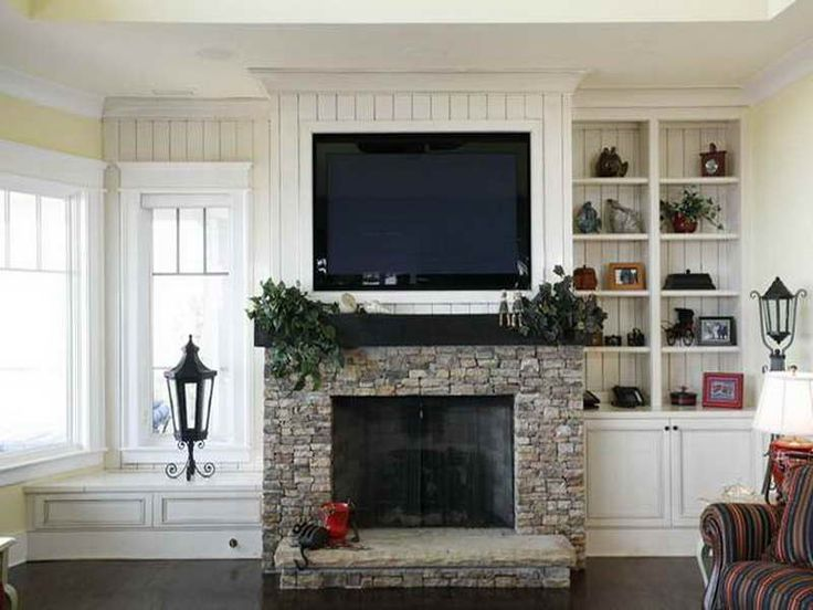 Ethanol Fireplace With Mantle Best 25+ Tv Above Fireplace Ideas On Pinterest