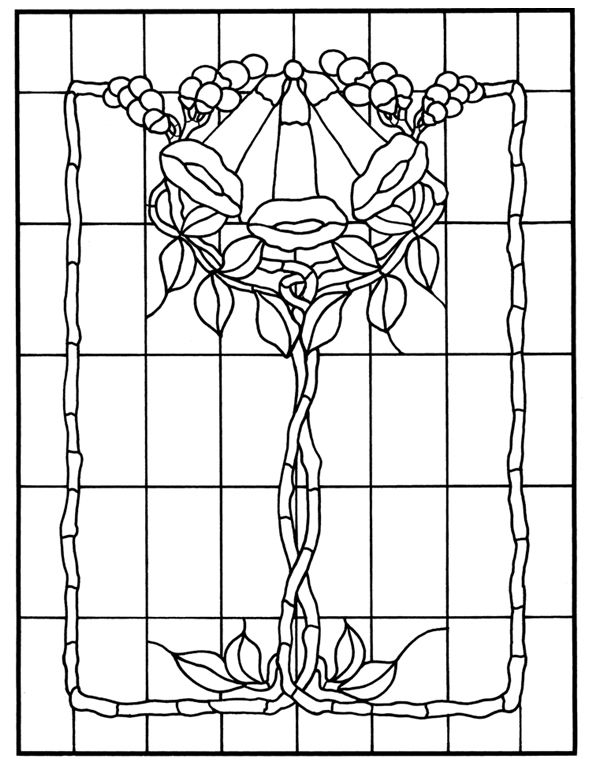 1156 best images about Stained Glass Flowers on Pinterest