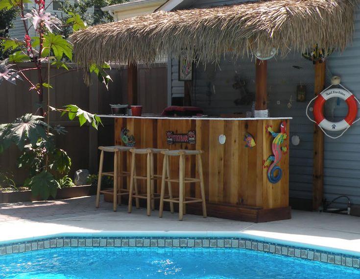 25 Best Ideas About Outdoor Bars On Pinterest Backyard Bar