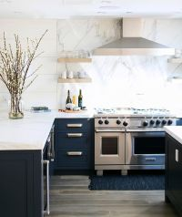 25+ best ideas about Navy Kitchen Cabinets on Pinterest ...
