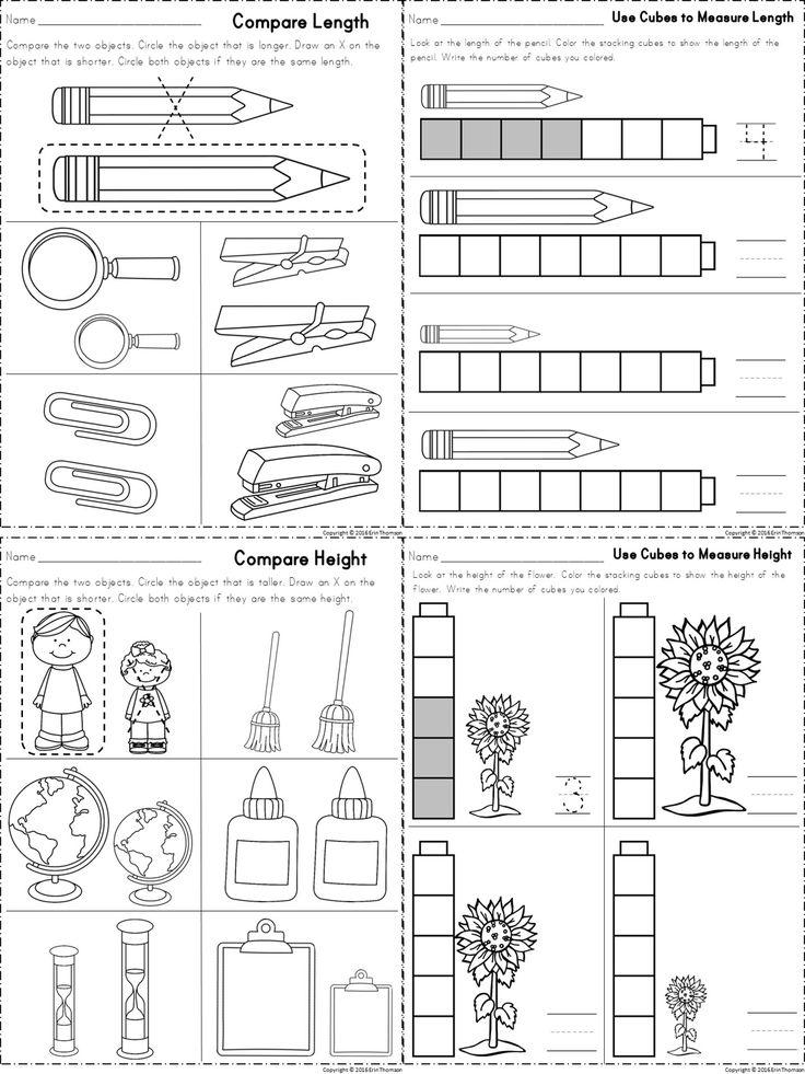 17+ best ideas about Measurement Kindergarten on Pinterest