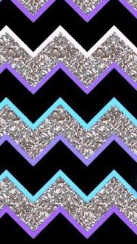 25+ bsta Glitter chevron iderna p Pinterest