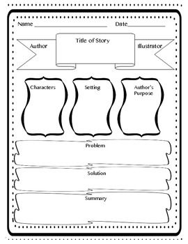 17 Best images about Graphic organizer reading on
