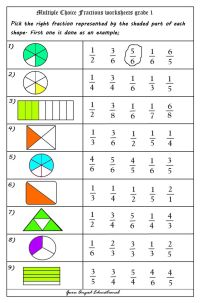 17 Best ideas about Fractions Worksheets on Pinterest ...