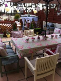 17 Best images about painted garden furniture on Pinterest ...