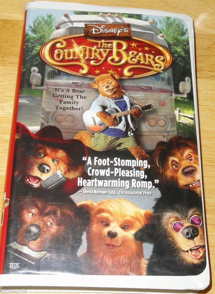 Bears 2002 Dvd Country
