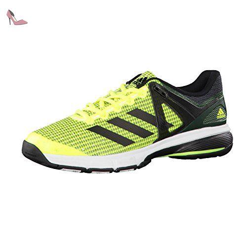 adidas court stabil chaussures de handball homme jaune amasol negbas