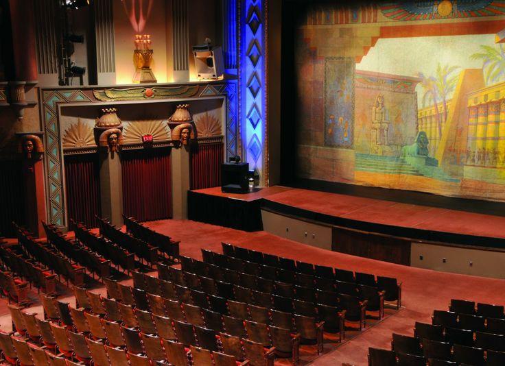 The Historic Egyptian Theatre DeKalb IL Interior I Saw