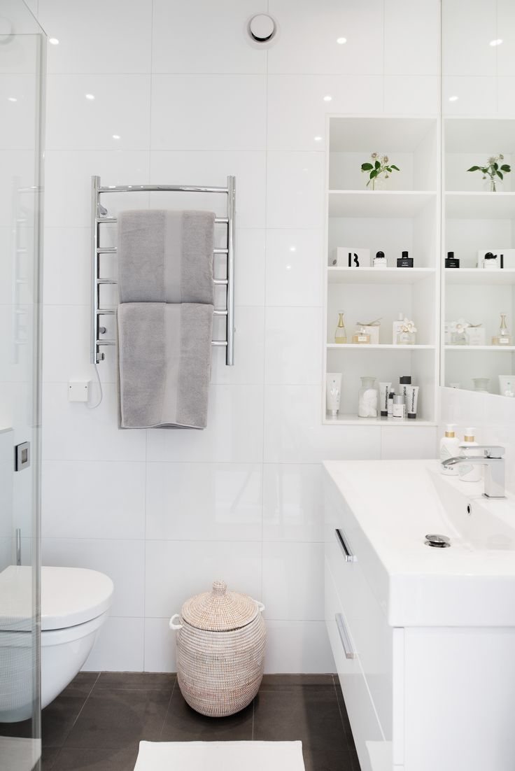 25 best ideas about Small White Bathrooms on Pinterest