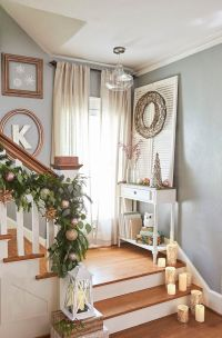 17 Best ideas about Stair Landing Decor on Pinterest