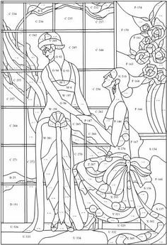2983 best images about Stained glass patterns on Pinterest