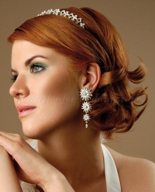 25 best wedding hairstyles for medium length hair images on Pinterest