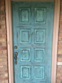 20 best images about chalk paint door on Pinterest