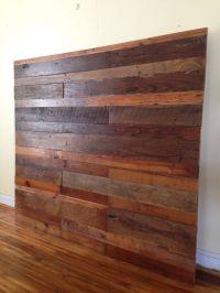1000+ ideas about Reclaimed Wood Headboard on Pinterest ...