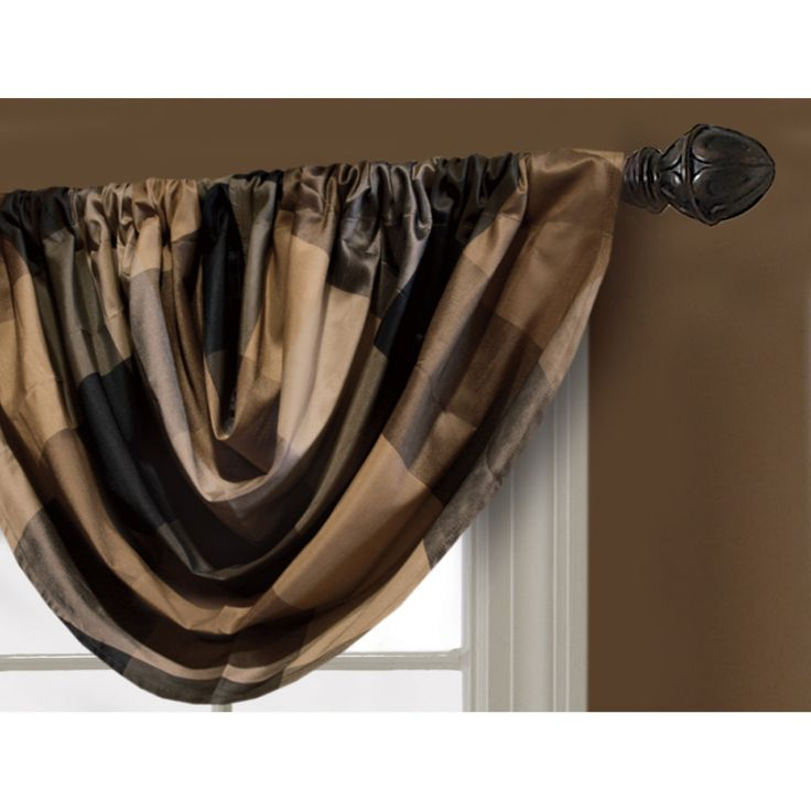 Shop Allen Roth 36 In L Onyx Emilia Waterfall Valance At Furniture Pinterest