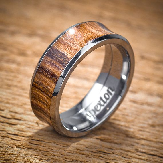 17 Best ideas about Wood Wedding Rings on Pinterest  Wood engagement ring Wood rings and Wood