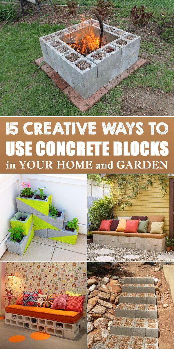 25 Best Ideas About Concrete Garden Bench On Pinterest