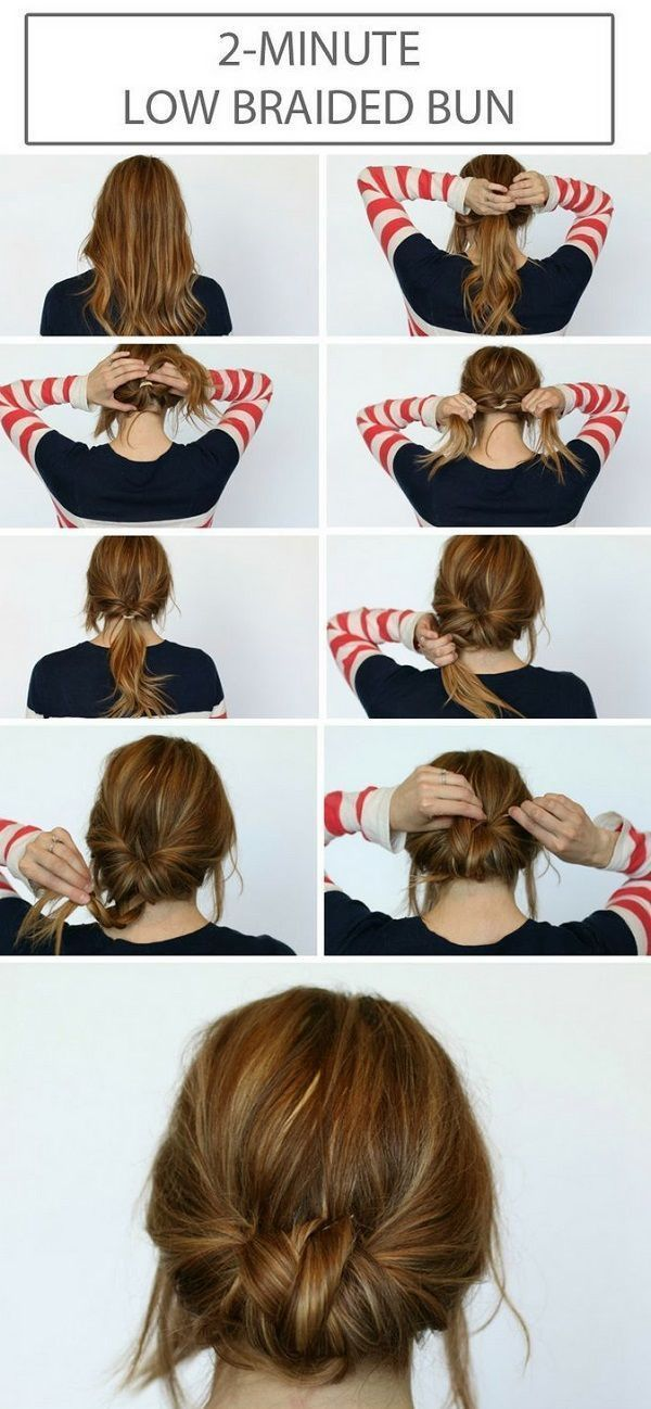 Simple And Easy 5 Minutes Hairstyle Tutorials: