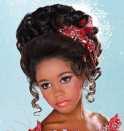 pageant hair updo kids - google