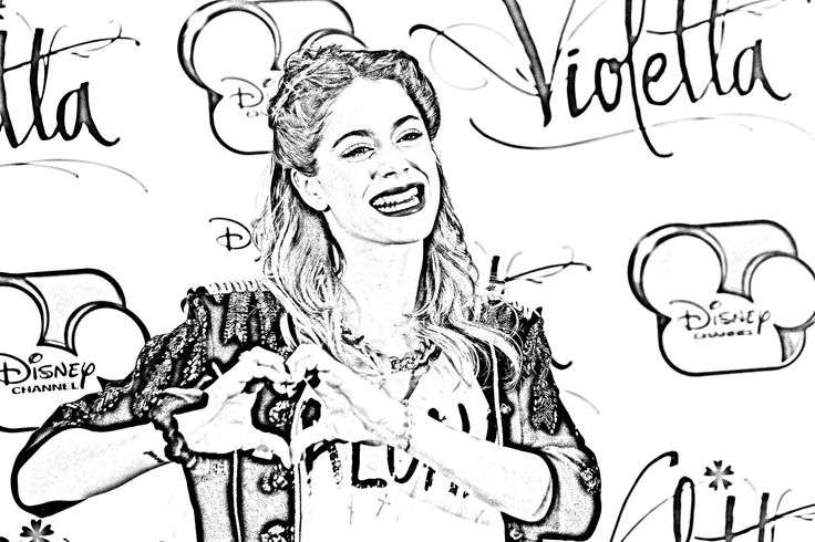 1000+ images about Violetta coloring pages on Pinterest