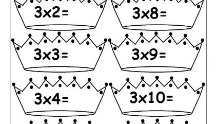 17 Best ideas about Multiplication Times Table on