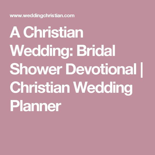 Wedding Shower Devotional Ideas  Mini Bridal