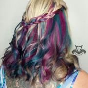 beautiful and bright hair colors