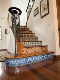 I love Spanish and Italian tile - 4) Hand painted tiles on ...