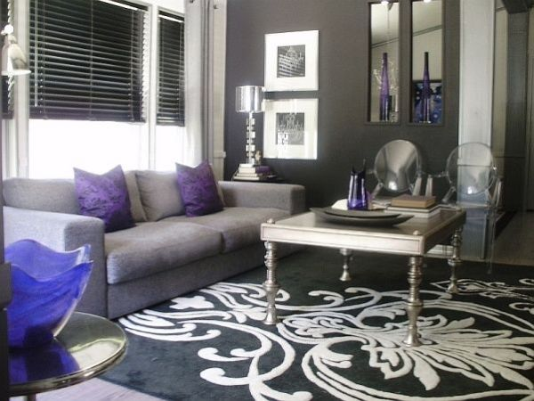 purple and silver living room ideas 97 best images about living room decor on Pinterest | Window security, Runner rugs and Living rooms