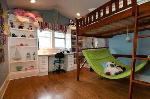 Bedroom  kids will love the hammock bed  Kids Rooms