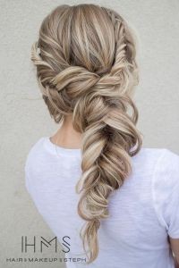 25+ Best Ideas about Fishtail Wedding Hair on Pinterest ...