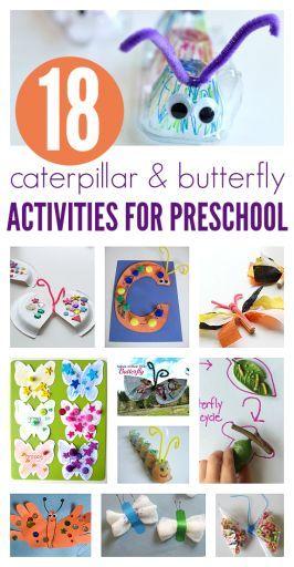 Butterfly And Caterpillar Ideas For Preschool SPRING
