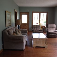 Beachy Living Room Wall Colors And Dining Sets Sherwin Williams Silvermist With Oak Trim | Home Decor ...