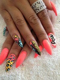 Love crazy nail designs | Nailart designs | Pinterest ...