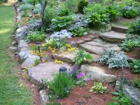 rock edge garden - Google Search | Gorgeous Gardens ...