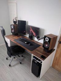 Best 25+ Ikea gaming desk ideas on Pinterest   Ikea study ...