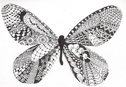 17 Best images about Zentangle Insects on Pinterest