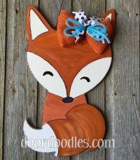 17 Best images about Fox Door Hangers on Pinterest ...