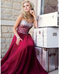 maroon prom dress   Formal wear   Pinterest   Long prom ...